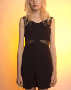 Black Cut Out Party Dress