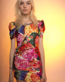 Candy Collage Dress