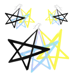 Babe Star Earrings: 3 Sizes!