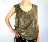 Muscle Tee Gold