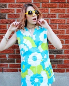 70's Floral Tunic