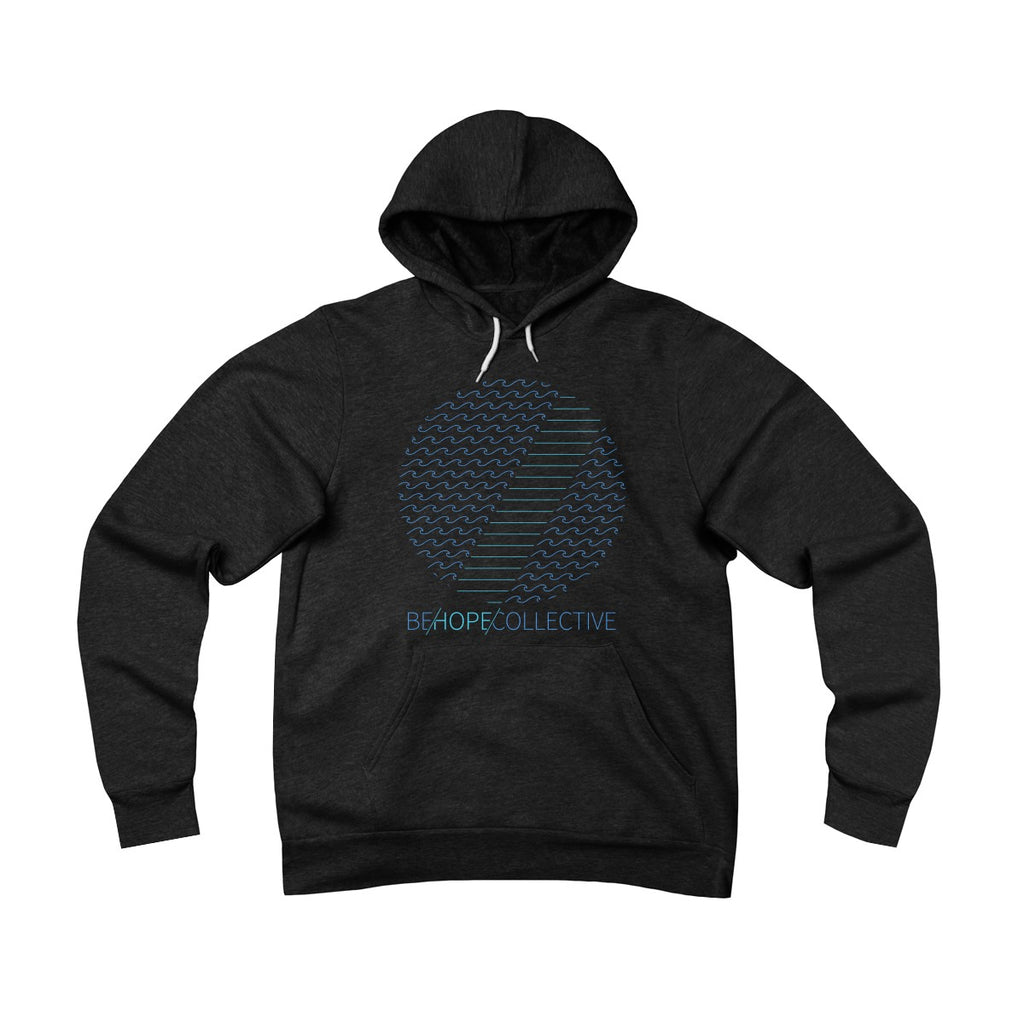 Hope in the Storm - Unisex Sponge Fleece Pullover Hoodie