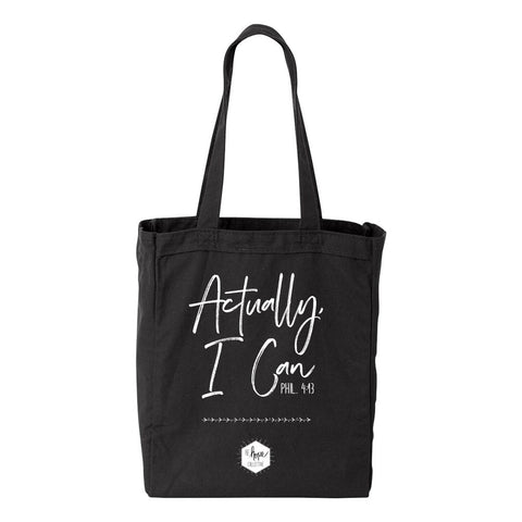 Actually, I Can - Tote bag