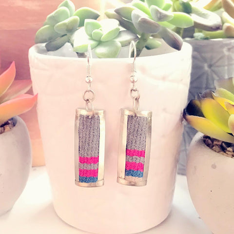 Aguayo Earrings - Rectangle