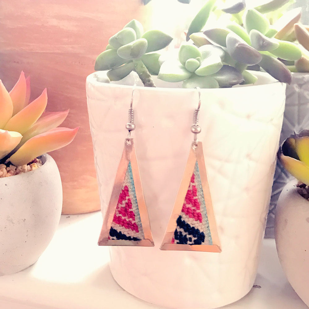 Aguayo Earrings - Triangle