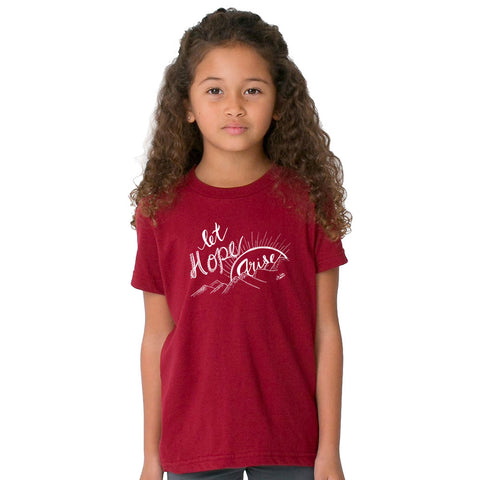Let Hope Arise Kids T-shirt