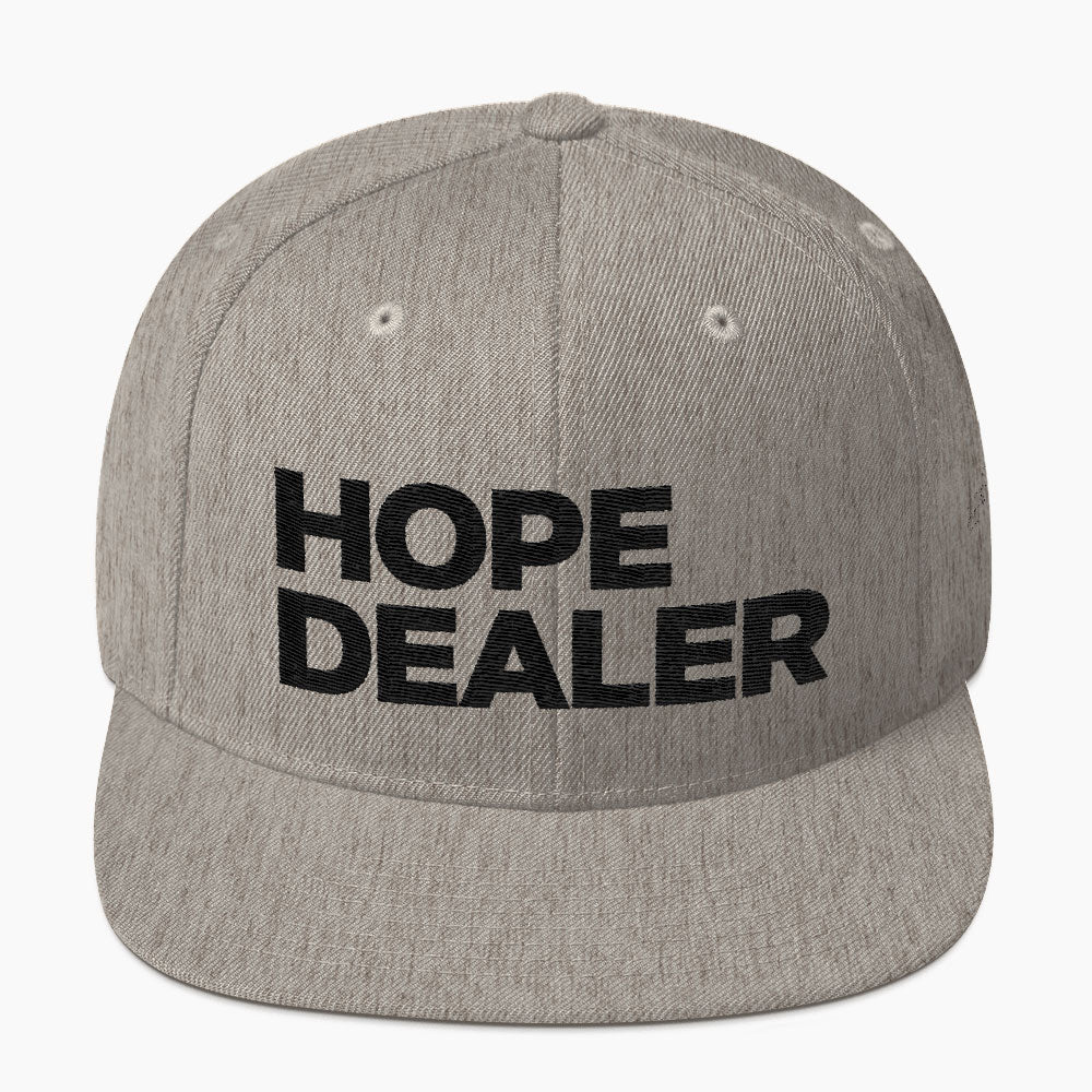 Hope Dealer Snapback Hat Be Hope Collective