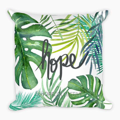 Hope (Jungle) - Pillow