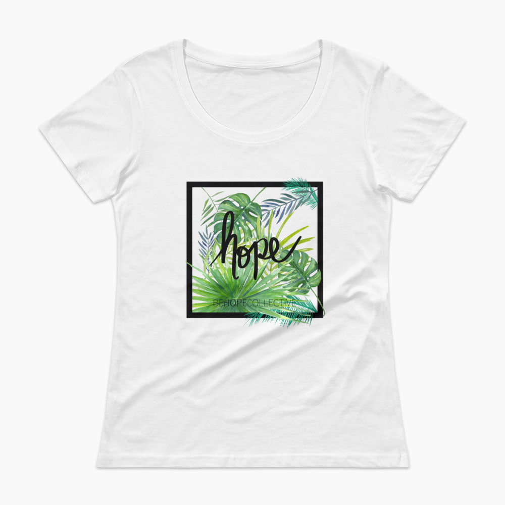 Hope (Jungle) Ladies' Scoopneck