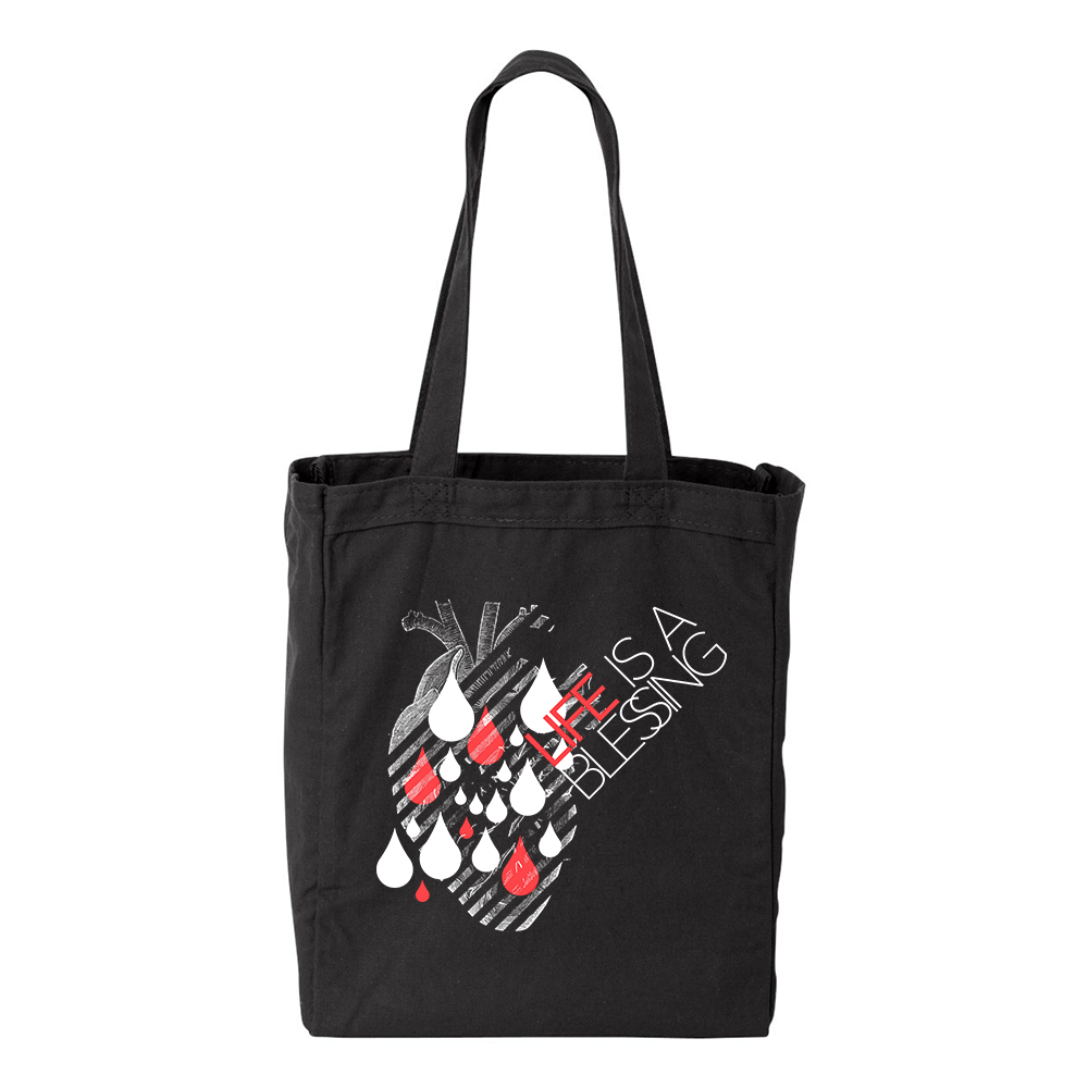 Life is a Blessing Tote bag