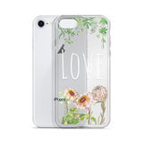 Love (Flowers) iPhone Case (5 - X)
