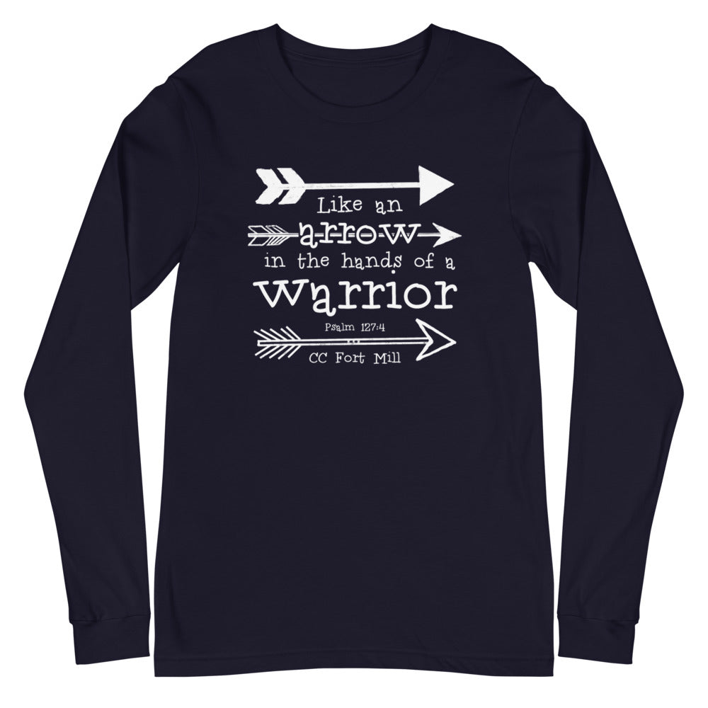 CC Arrows Student Design on Adult Long Sleeve