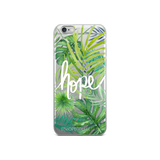 Hope (Jungle) iPhone Case (5 - X)