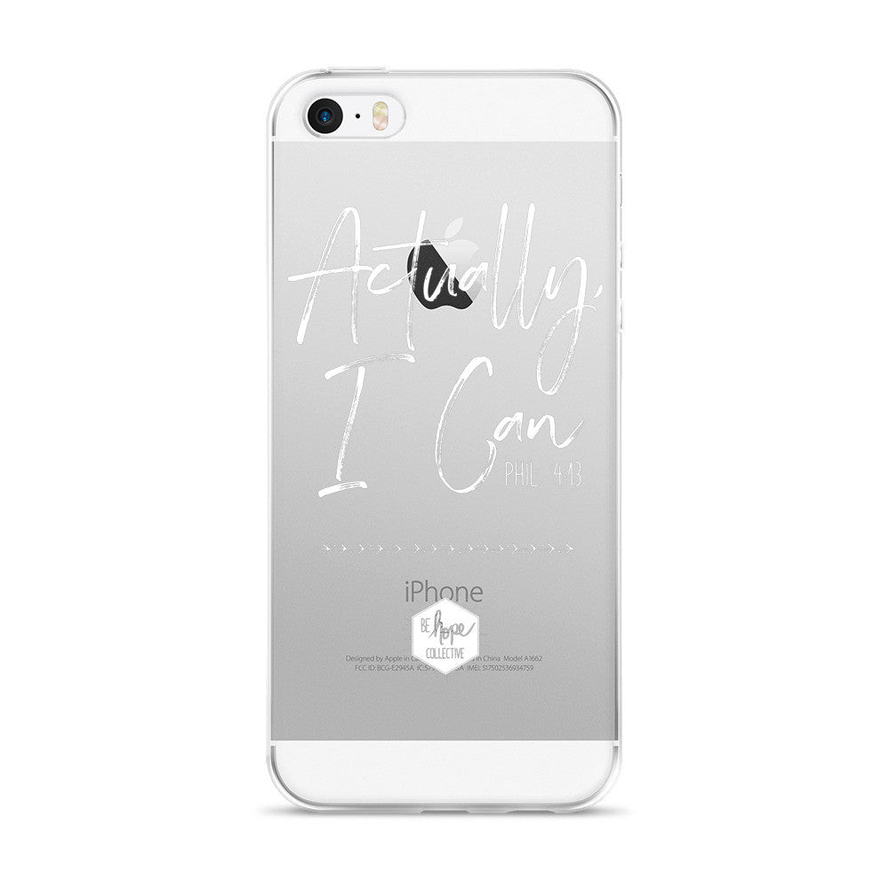 Actually, I Can - iPhone 5/6 Case