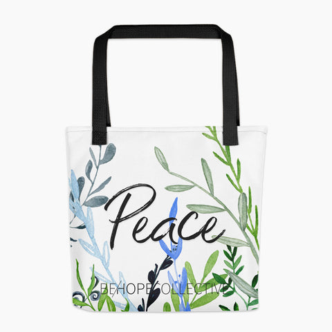 Peace (Vines) All Over Tote