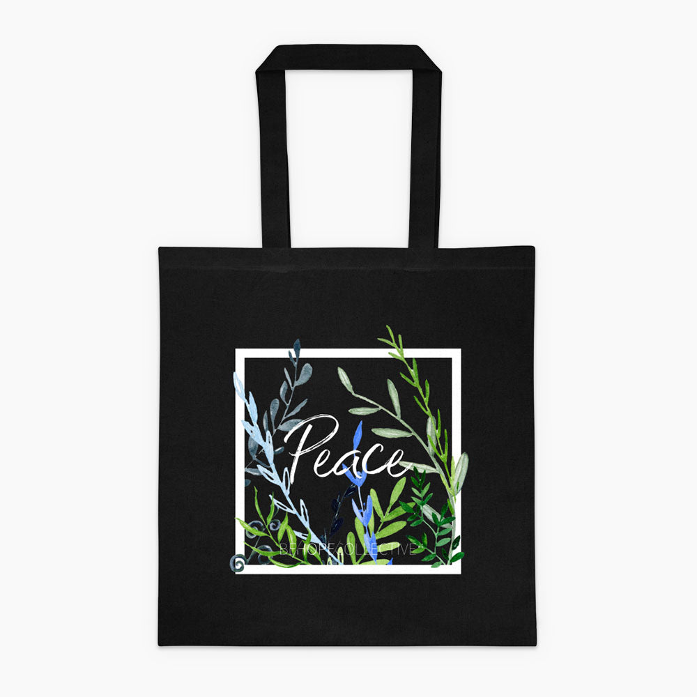 Peace (Vines) Tote bag