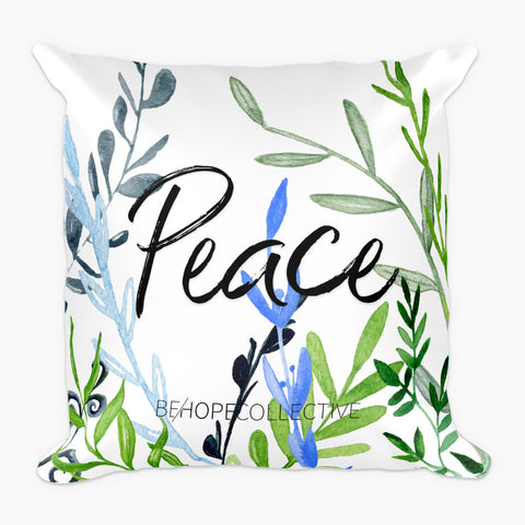 Peace (Vines) Pillow