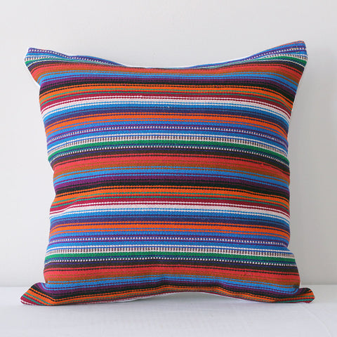 Primavera Pillow - Multi/White