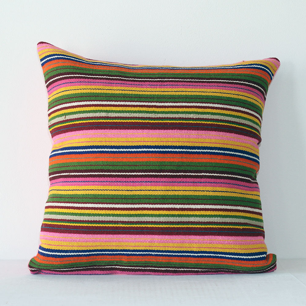 Primavera Pillow - Multi/Pink