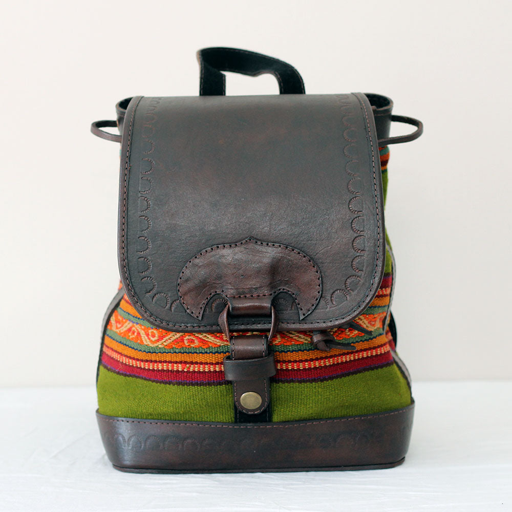Viajera Backpack - Olive