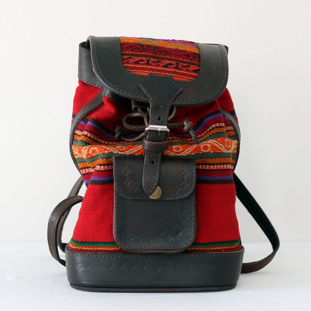 Lily Backpack - Red