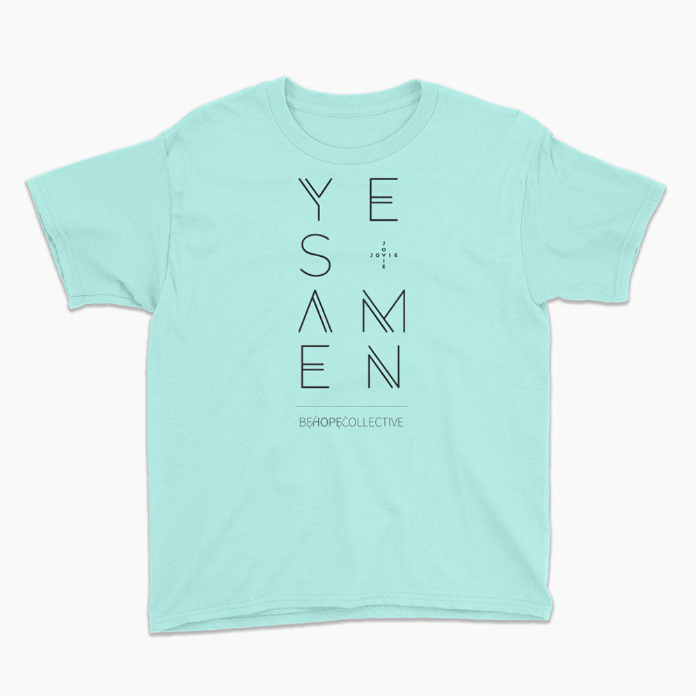 Yes & Amen (Jovie) - Youth T-Shirt