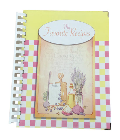 "My Favorite Recipes *Limited 7"" X 10"" Full-Color Comb Bound Edition"