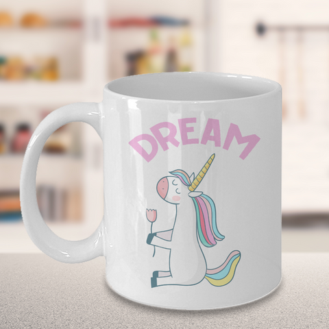 Unicorn Coffee Mug - Dream