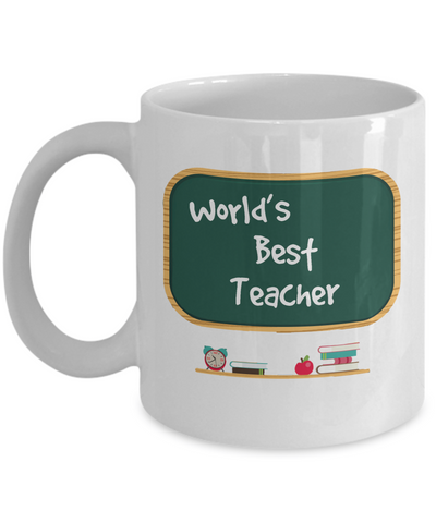 World's Best Teacher 11oz. Mug