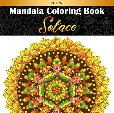 Mandala Coloring Book | Solace
