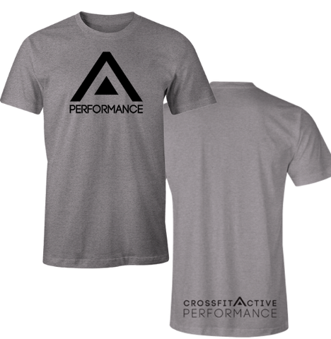 Active Competitor Black Men's T-Shirt