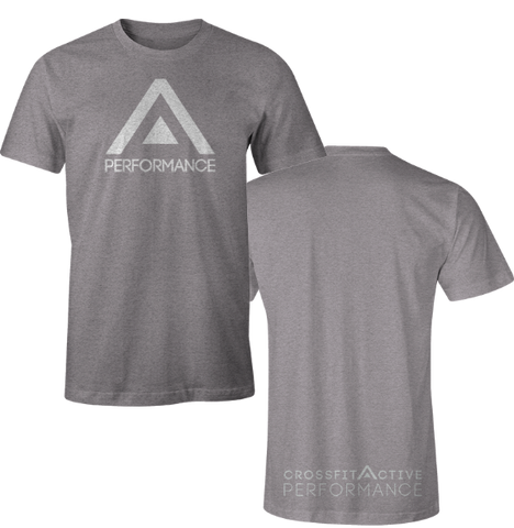 Active Competitor White Men's T-Shirt