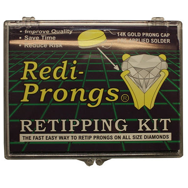 Round Redi-Prong Kit 300pcs 14KT (9634558543)
