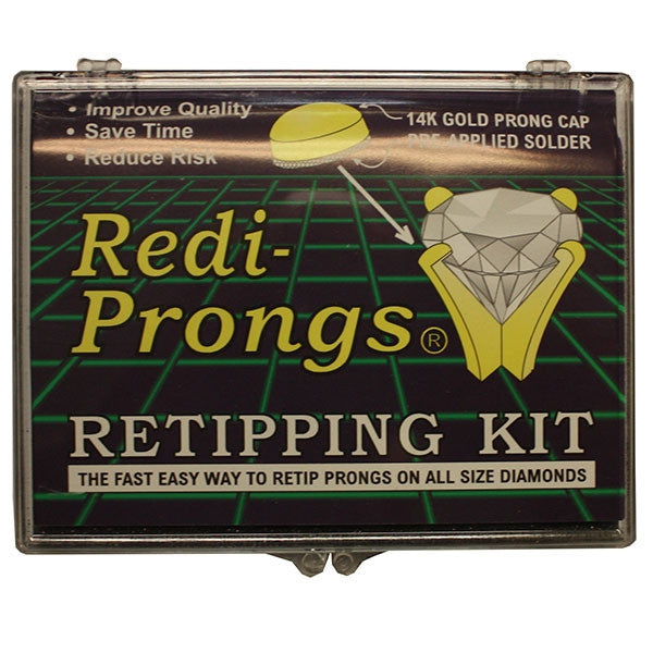 Round Redi-Prong Kit 300pcs 14KT