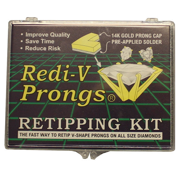 V Shaped Redi-Prong Kit 14KT