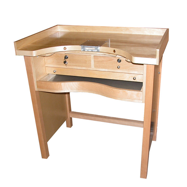 Premium Hardwood Jewelers' Workbench