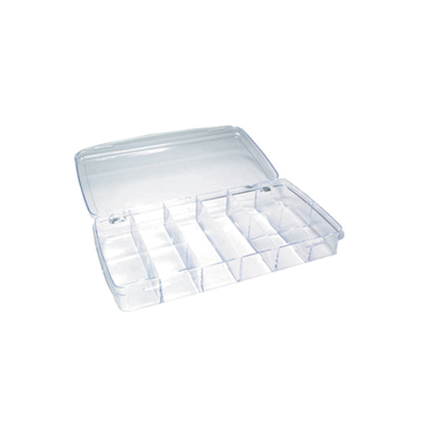 Plastic Box with 12 Compartments (613279924258)