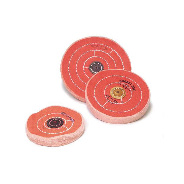 "6"" Diameter Orange Buffs"