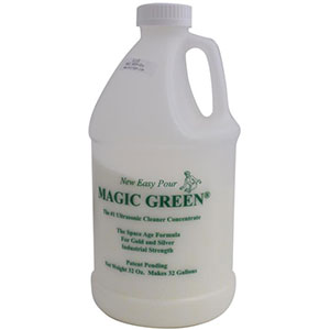 Magic Green Granulated Ultrasonic Cleaning Concentrate