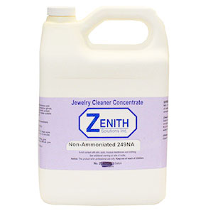 Zenith Solutions Jewellery Cleaner Non-Ammoniated 249NA (587670585378)