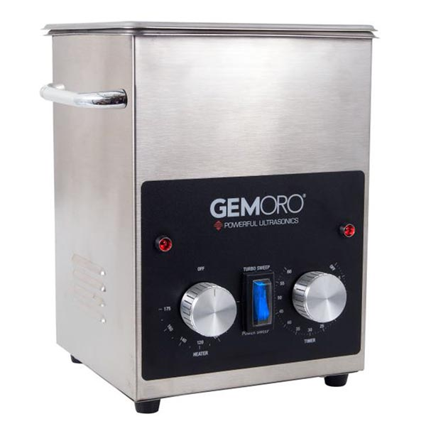GemOro 2QTH Next-Gen Ultrasonic Cleaning Machine
