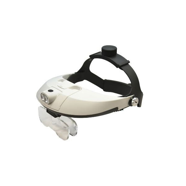 2 LED Illuminating Headband Magnifiers
