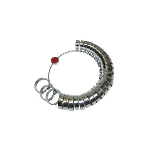 7mm Comfort-Fit Ring Sizer - Sizes 1 to 15