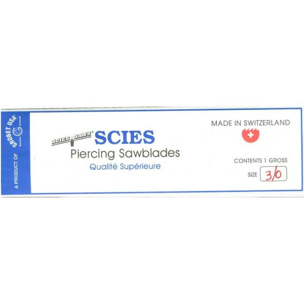 SCIES Piercing Saw Blades