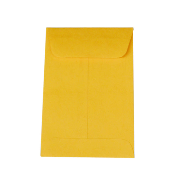 "No. 4 Kraft Blank Job Envelopes - 4 1/2"" x 3"" (3814931857442)"