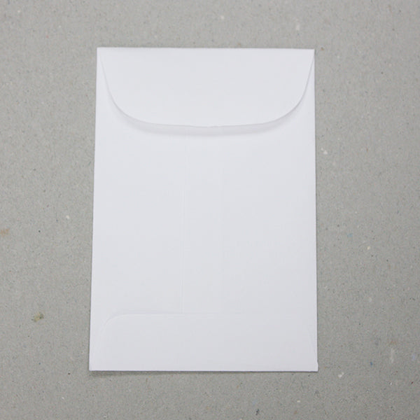 "No. 4 White Blank Job Envelopes - 4 1/2"" x 3"" (3814932742178)"