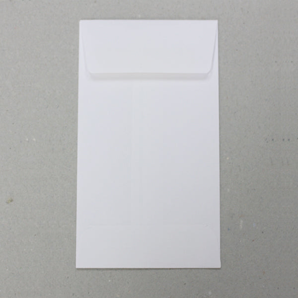 "No. 5.5 White Blank Job Envelopes - 5-1/2"" x 3-1/8"" (3814938083362)"