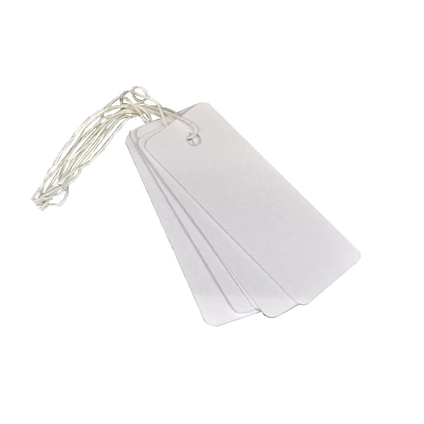 Plain White Tags