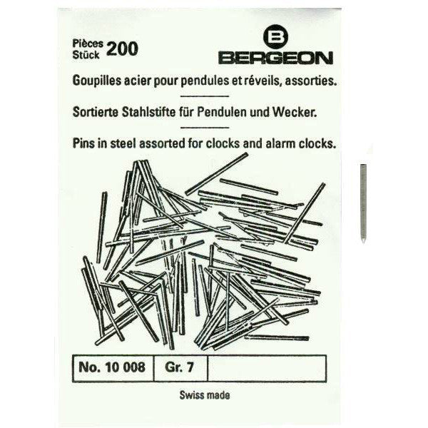 Steel Pins Assorted Bergeon
