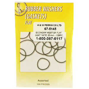 Assortment of Flat Rubber Gaskets